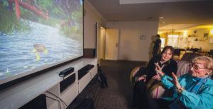 virtual forest dementia care