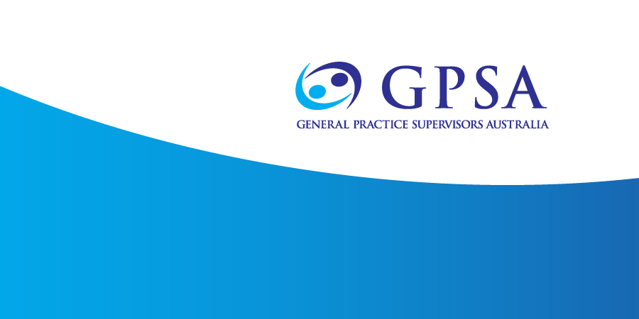 GPSA logo cover blue white