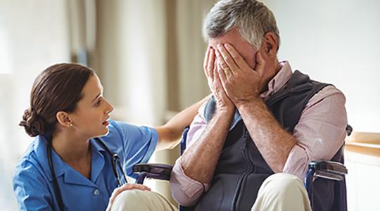 Death and dying in dementia care
