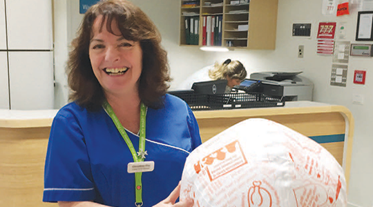 Supporting meaningful activity in hospital